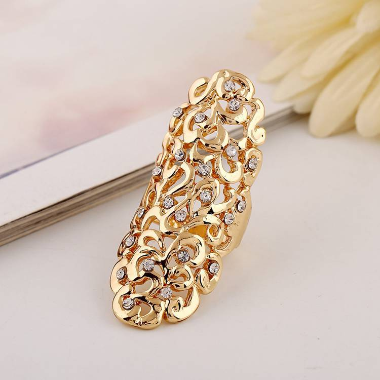 Gold Finger Rings Designs Without Stones