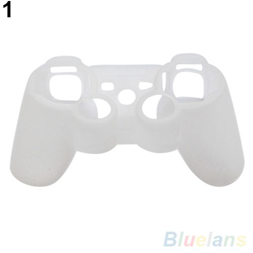 Силиконовый защитный кожного покрова обернуть чехол для playstation 3 ps3 контроллер gamepad 2iq4