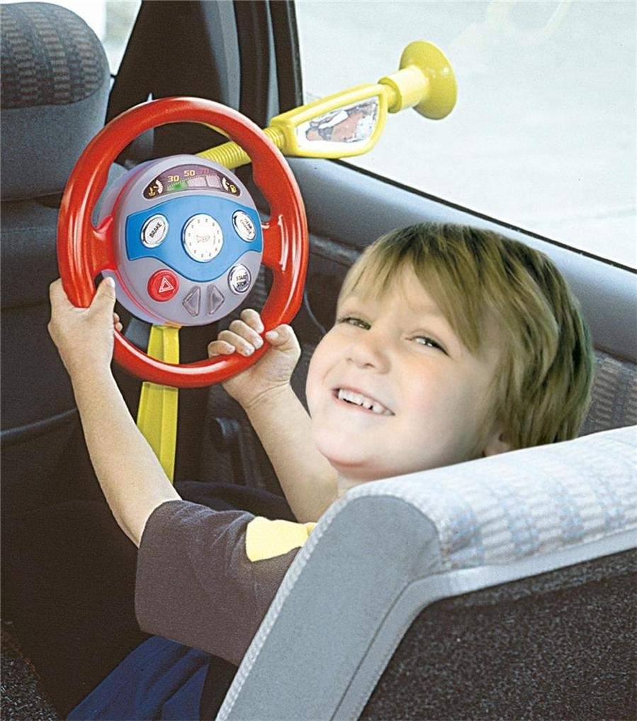 Childrens Electronic Backseat Driver Car Seat Steering Wheel Educational Toy Game(China (Mainland))