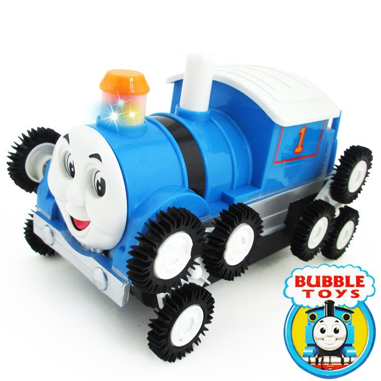 Thomas Electric Toys Dumpers 12 Wheel Railway Engine Stunt Dumpers Cars Children's Toy Vehicles Diecasts Vehicles(China (Mainland))