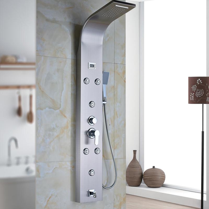 Online kopen wholesale douche panel systemen uit china - Colonne bagno moderne ...