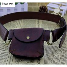 Buy Fashion decoration first layer cowhide belt vintage punk cowboy vintage wallet belt genuine leather waist belt bag for $32.95 in AliExpress store