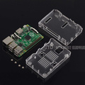 Raspberry Pi 2 Case Raspberry Pi B Case Black Case Box Enclosure for Raspberry Pi 2