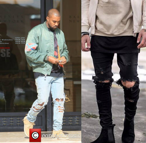 jeans co Picture - More Detailed Picture about Kanye West Skinny ...