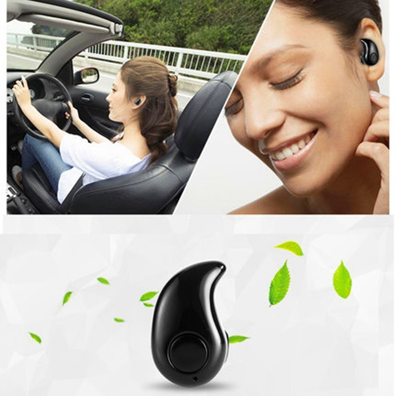 Universal Mini Wireless Bluetooth Headset handsfree Ultra small Earphone with Microphone Safe Driving Invisible Design for phone