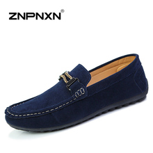 Casual Men Shoes Men Loafers Pu Leather Slip-On Driving Shoes Men Flats Lazy Shoes Moccasins Zapatos Hombre