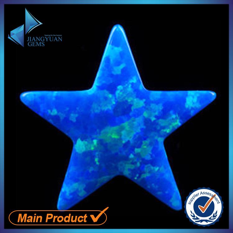 30pcs 6x6~12x12mm Synthetic Blue Fire Opal Star Shape Charm Pendant Hole 1mm Thickness 2.5mm Opal Bead<br><br>Aliexpress