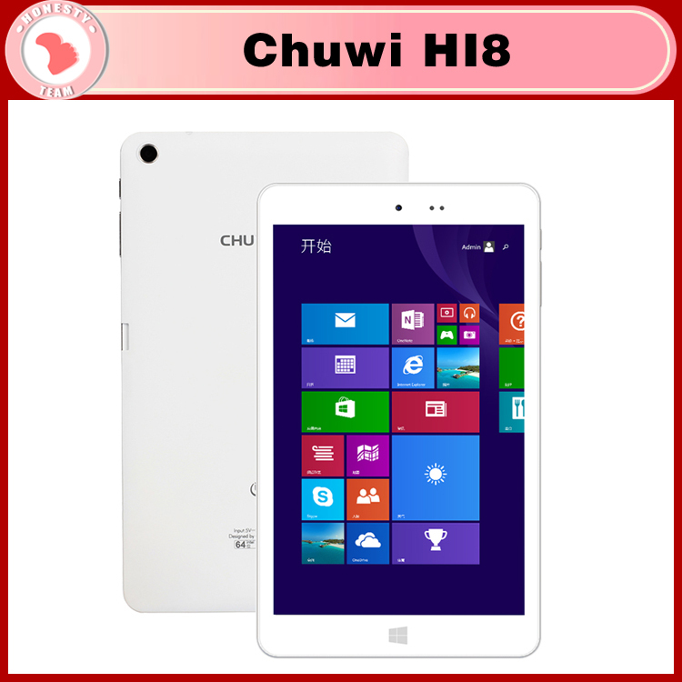 Планшетный ПК HI8 Chuwi 8/windows8.1 + Intel Z3736F android4.4 2 32 IPS 2 1920 * 1200 планшетный пк ampe core 2 16 1920 1200 ips android 4 2 3g 7inchtablet mtk6592 core1 7ghz otg