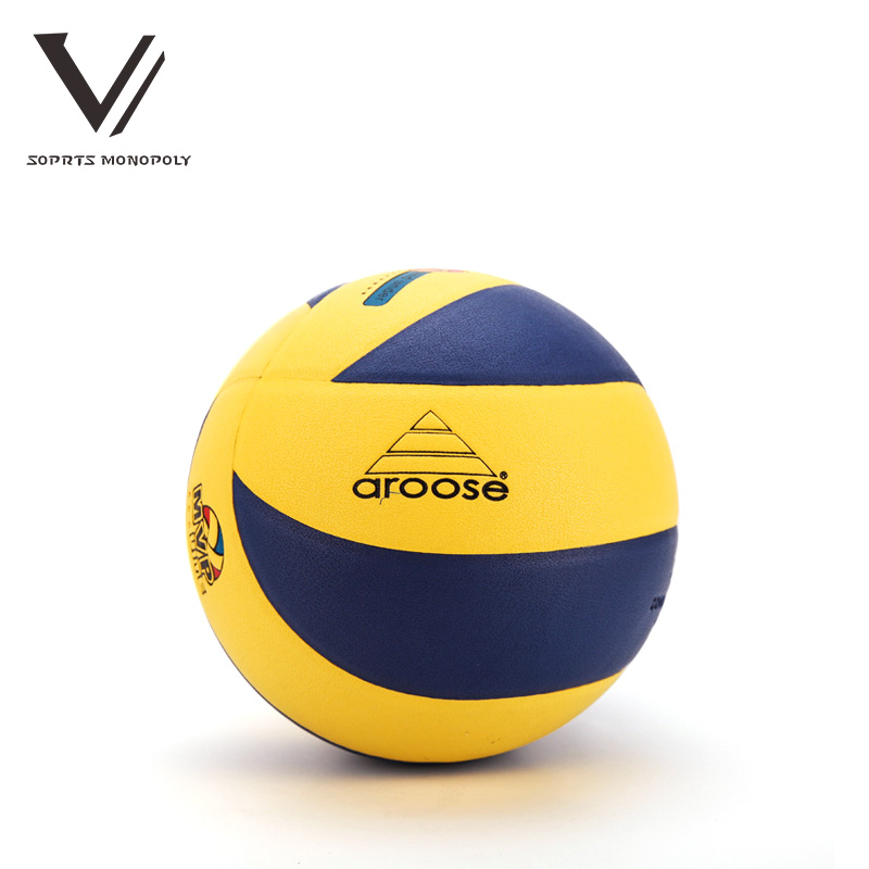 New Official Size 5 PVC Foam Leather Volleyball 18 Panels Match Volleyball Indoor Outdoor Training ball Match Volleyball bal 787(China (Mainland))