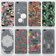TPU Soft Cases For Xiaomi Mi4i Mi4c Transparent Printing Drawing Ultra-Thin Silicone TPU Phone Cover For Xiaomi 4i 4c