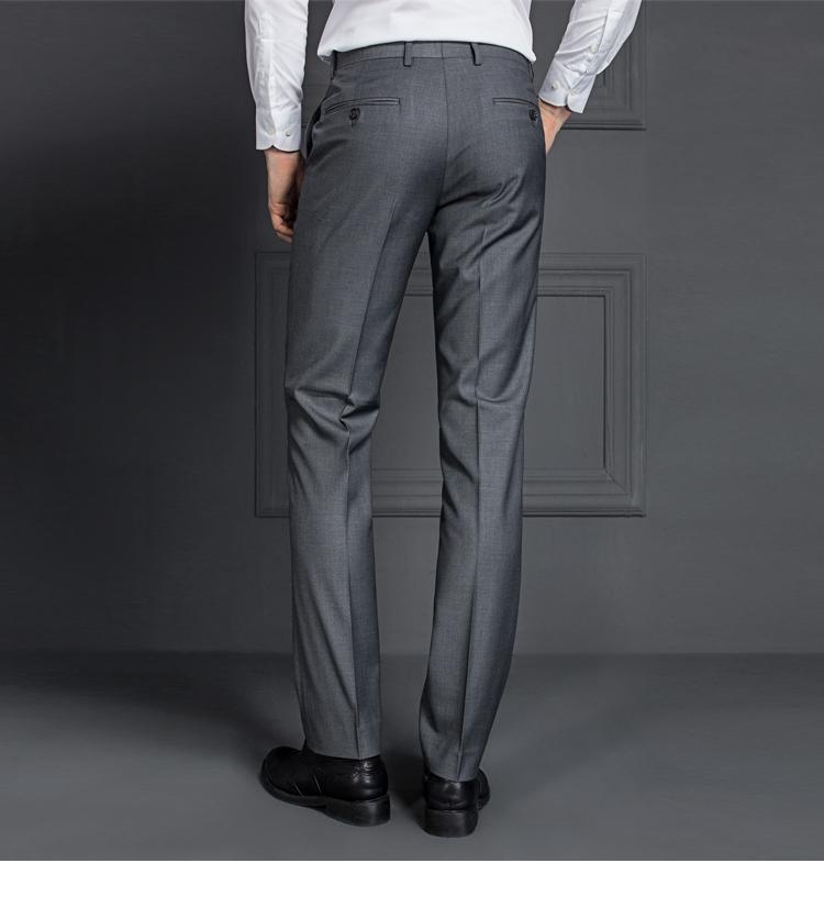 HTB1Jp6tPFXXXXXIXVXXq6xXFXXXL - 2017 Men Business Suit Slim fit Classic Male Suits Blazers Luxury Suit Men Two Buttons 2 Pieces(Suit jacket+pants)