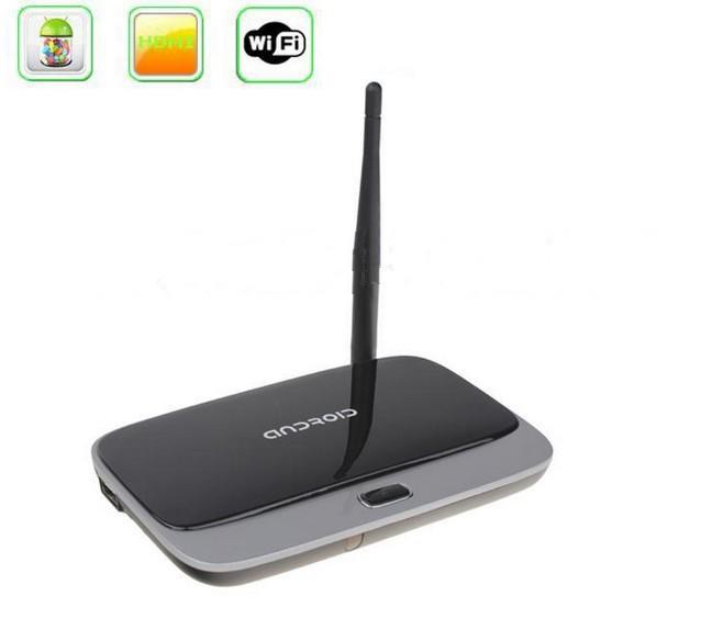 10 pcs/lot Android 4.4 TV Box Q7 CS918 RK3188T Quad Core Media Player 1GB/8GB XBMC Wifi Antenna with Remote Control(China (Mainland))