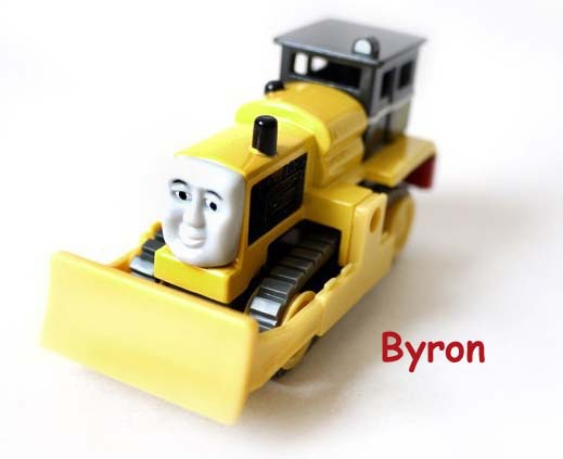 Byron -- Free shipping Diecast metal thomas and friends train the tank engine toys for children kids Christmas gift(China (Mainland))