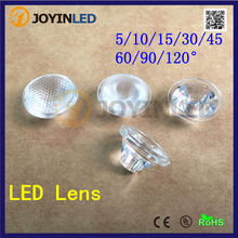 Buy 50pcs 45 (5 10 15 30 60 90 120) degree led lens bead surface, 20mm pmma optical lens high power led diode free for $5.55 in AliExpress store