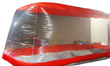 5m (16 foot 4 inch) Inflatable Car-Covers For Home Use Or Car Show  PVC Water Proof(China (Mainland))