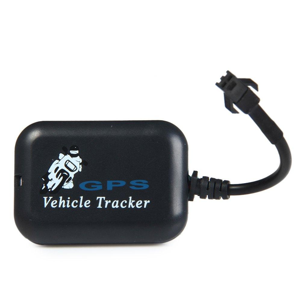 Mini GPS Tracker SMS Tempo Real Rede veículo Motocicleta monitor de 4 bandas GSM/GPRS/GPS sistema de Rastreamento gratuito grátis(China (Mainland))