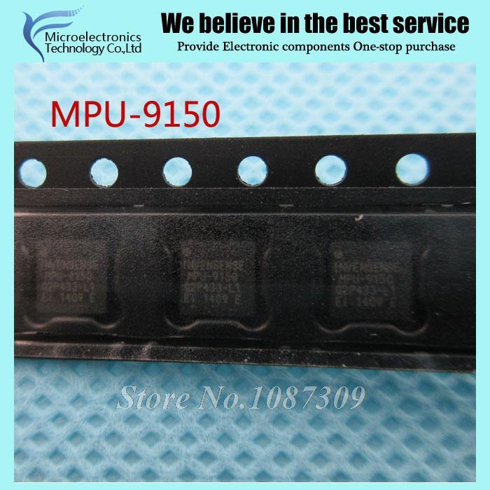 10PCS free shipping MPU-9150 MPU9150 MPU 9150 QFN-24 GYRO/ACCELEROMETER 9-AXIS 24LGA new original(China (Mainland))