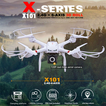 2016 MJX X101 camera drone 2.4GHz 6 Axis Gyro RC helicopter with 3D Roll Stumbling Function drone Without Camera