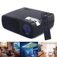 Mini LED Video Projector BL-20 Full HD Projectors 1080P 2600 Lumens Home Theater LCD Education Projector HDMI VGA AV USB Beamer
