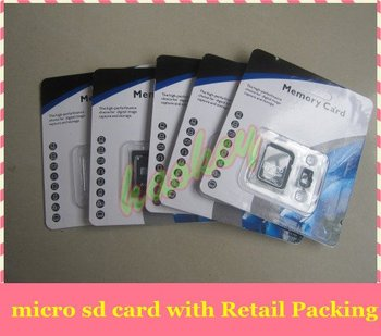 Free shipping For 4GB Micro SD Card, Mini SD Memory Card 4GB TF Card+ Adapter with Retail Packing!