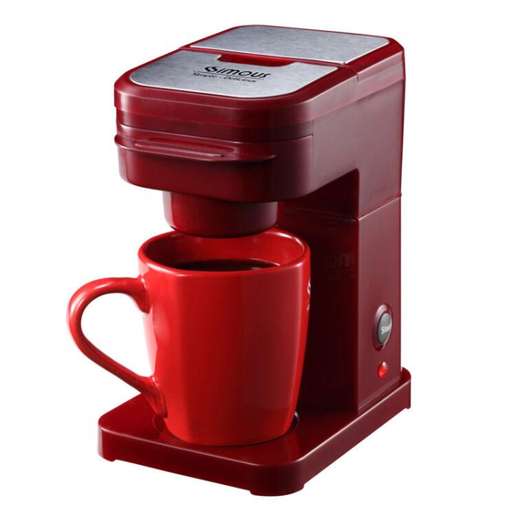 2016 Espresso Machine Cafeteras Nespresso Travel Size K Cup Coffeemaker Single Serve Brewing System Coffee Machine Red/black(China (Mainland))