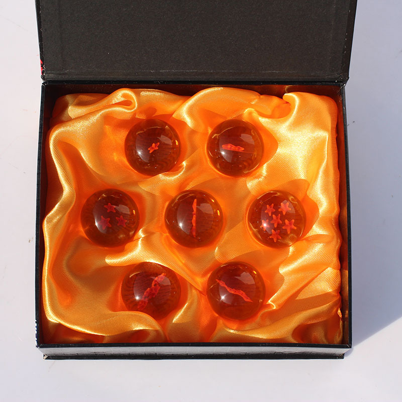 3set Dragon Ball Z 3.5CM New In Box DragonBall 7 Stars Crystal Ball Set of 7 pcs Dragon Ball Z Balls Complete set Free Shipping<br><br>Aliexpress