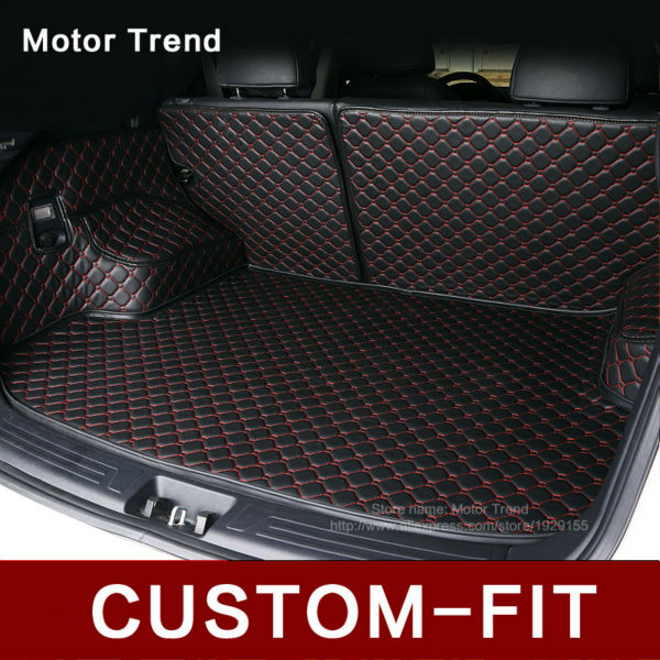 Custom fit car trunk mat for Subaru Forester Outback Tribeca XV 3D car-styling heavy duty all weather tray carpet cargo liner(China (Mainland))