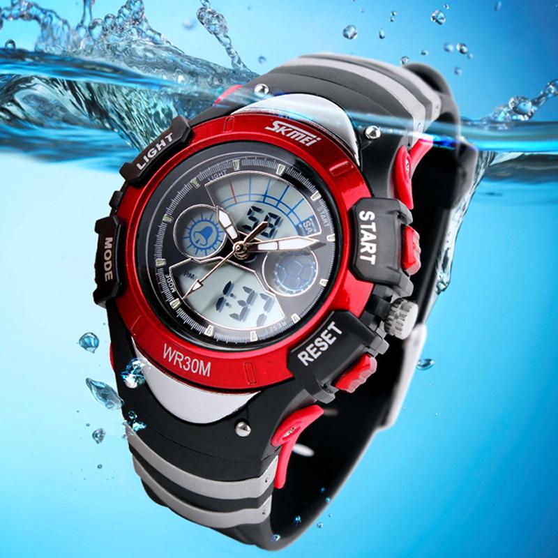 Skmei Brand Digital Watches For Men Children Sports Watch Multifunctional 3TAM Wristwatch Water Resistant ZBG3036(China (Mainland))