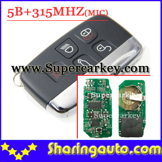 Big discount 4+1 Button Remote Key with 315MHZ FOR Land Rover Discovery(MIC) Smart keyless (1piece)<br><br>Aliexpress