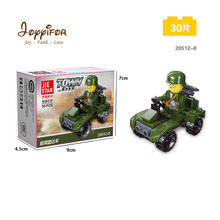 12 Kinds Original Mini Transportation Block Car Building Compatible legoeINGlys Duplo City Soliders Police Bricks(China)