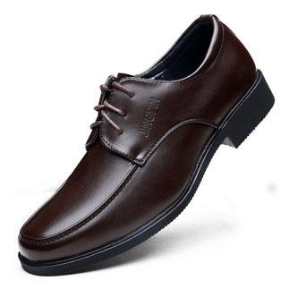 NEW 2014 Plus Size Genuine Leather Mens Shoes Business Formal Brogue Leather Dress Shoes Men Flat Shoes 39-44  black&amp;brwon<br><br>Aliexpress