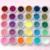 Free Shipping 30 Mix color Nail Glitter Powder Dust Nail Art