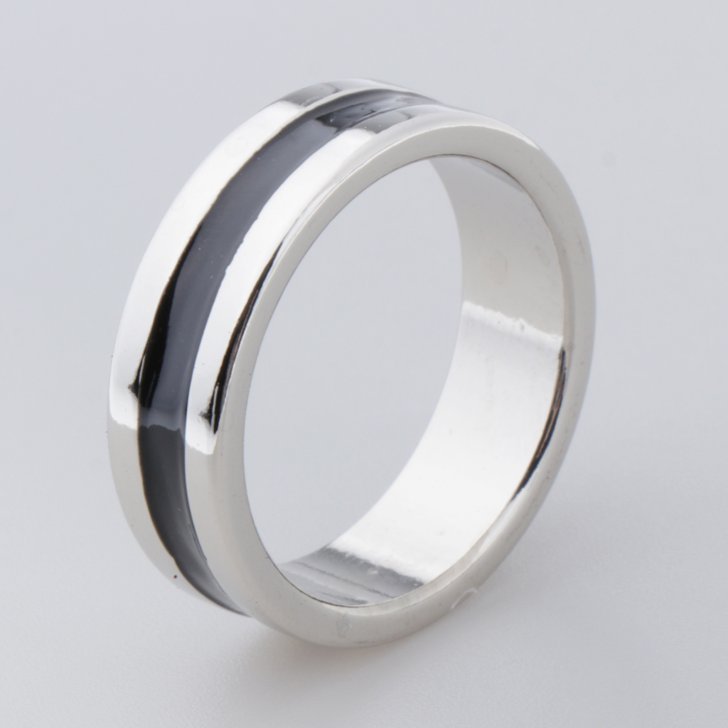 Black Magnetic Ring Coin Finger Decor 18/19/20/21mm Magic Ring Prop Magician Stage Magic Prop Accessory Magnet Coin Finger