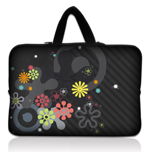 """2015 Color snowflakes Laptop Sleeve Bag tablet PC notebook bag 11.6""""/12"""" for Samsung Galaxy computer bag for macbook air dell(China (Mainland))"""