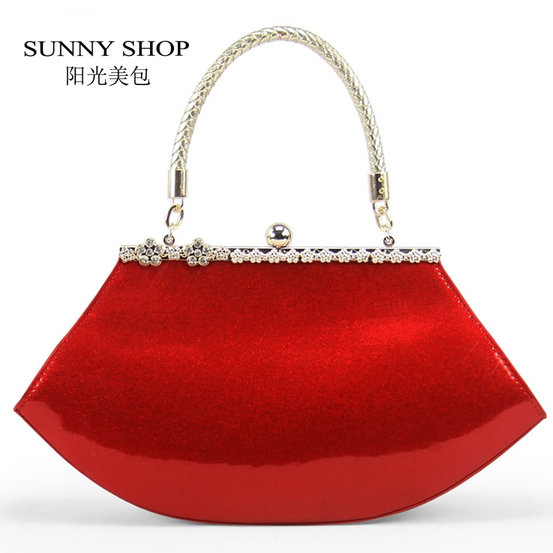 Brilliant Lady Women Soft Cotton Handbag Business Party Evening Bag
