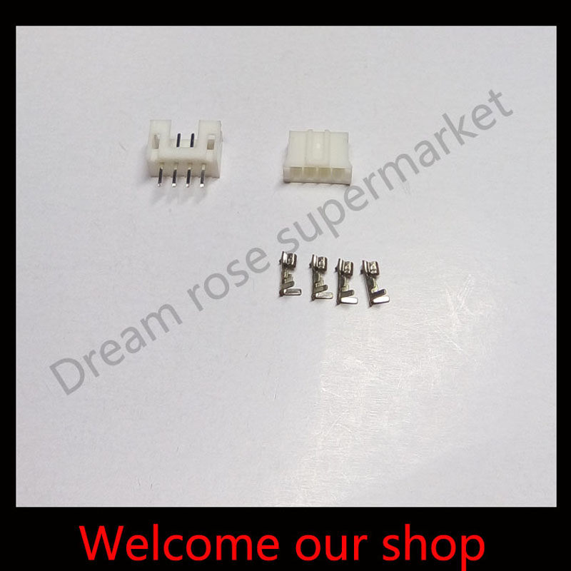 PH 2.0 4-Pin electronic terminals cable connector plug Male and Female  terminal Crimps x 100 Sets  Free shipping<br><br>Aliexpress