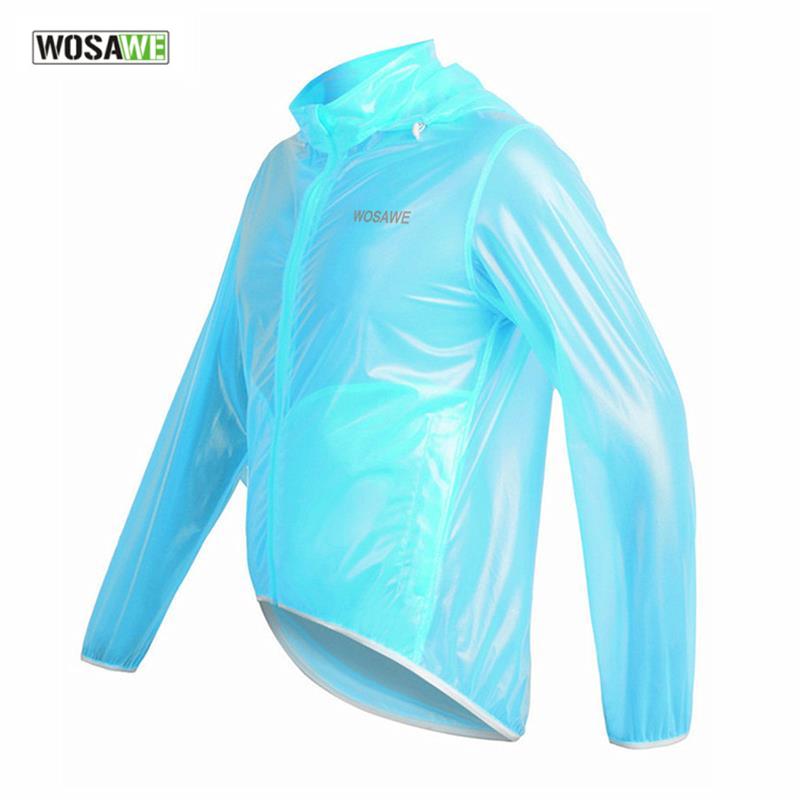 WOSAWE Outdoor Sports Waterproof Windproof Cycling Rain Jacket Bike Bicycle Rain Coat Raincoat Cycle Rain Jersey , 3Colors(China (Mainland))