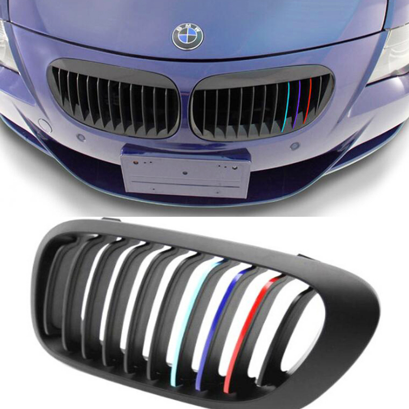 top price car middle net three-color reflective stickers Automotive creative decorative 3 M sticker 3 color freeshipping(China (Mainland))