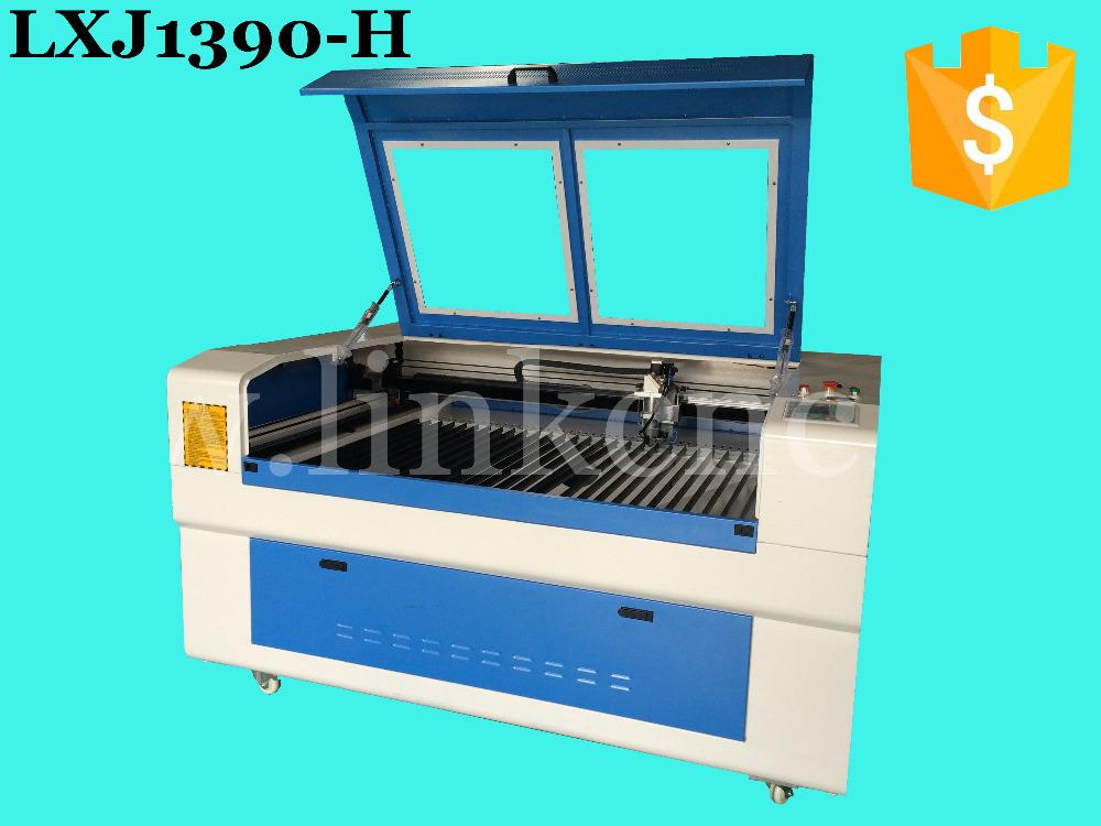China popular laser wood engraving machine price 1390/LINK LXJ1390-H-150W/laser cutting machine spare parts(China (Mainland))