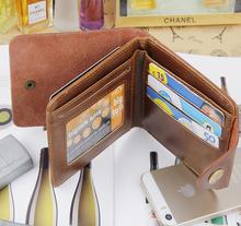 11 5 9 5 2cm New 100 PU Leather Fashion Designer Man Polo walletS