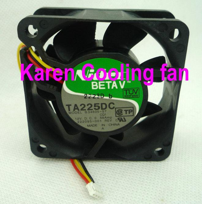6cm TA225DC B34605-57 6025 12v 0.58a cooling fan 2410ML-04W-B69<br><br>Aliexpress