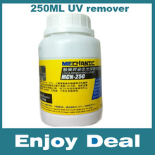 Free shipping 250ml Mechanic MCN-250 LCD uv glue remover for LOCA glue samsung iphone and other screen separator mahine(China (Mainland))