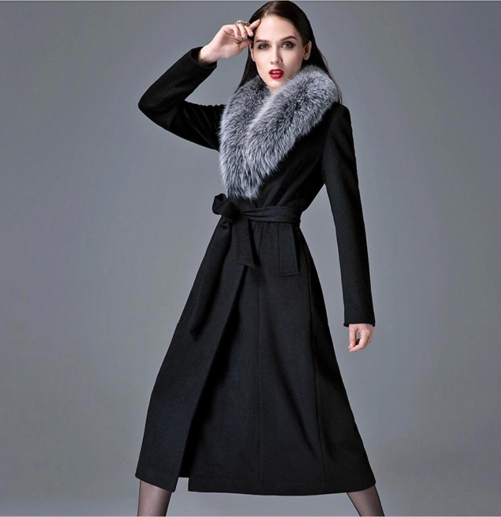 Long Black Wool Coats - JacketIn