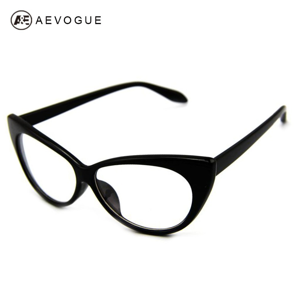 Large Framed Cat Eye Reading Glasses : Aliexpress.com : Buy AEVOGUE Plain Reading Glasses Vintage ...