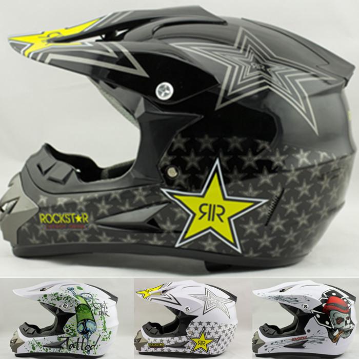 free shipping factory price casco capacetes dirt biker off road motorcycle helmet rockstar cross ATV Bicycle motorcross helmets(China (Mainland))