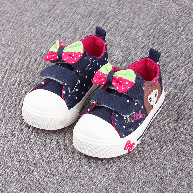 Spring/Autumn Child Baby Shoes Kids Fashion Sneaker Canvas Shoes Boys And Girls Toddler Shoes Breathable Shoes(China (Mainland))