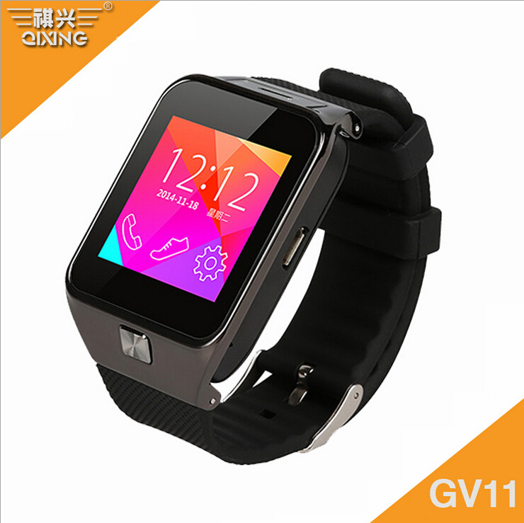 Fashion Smart Watches with sim card 200w camera buletooth smart watch moible phone match IOS and Android(China (Mainland))