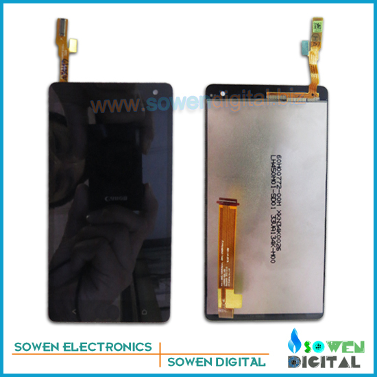 for HTC Desire 600 LCD display screen with touch screen digitizer with frame assembly full set,Original,free shipping