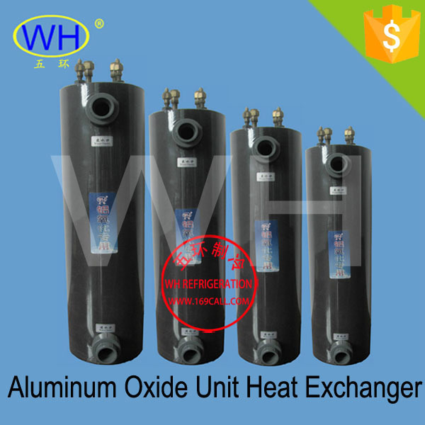 4.6KW salt water heat exchanger, titanium tube heat exchanger (WHC-2.0DC)(China (Mainland))