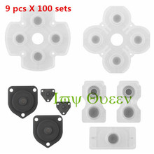 IVY QUEEN Wholesale 100 Sets Replacement Conductive Rubber Buttons Pad Kit for Sony Playstation 4 PS4  Wireless Controller